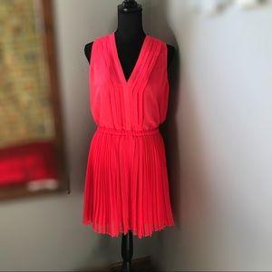〰️Victorias Secret Bright Hot Coral Dress NWOT